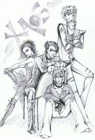 Group Haos by Dino-tyan