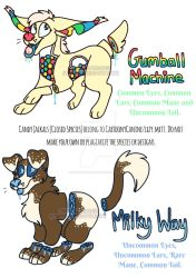 Candy Jackal (CS) Adopts [OPEN] by CartoonyCanine