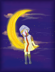 moon girl by orum-the-cat