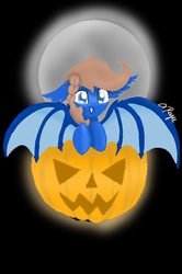 Pumpkin Bat YCH 2 by Butterfly1624