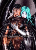 Guts and Slan 2 by kiborgalexic