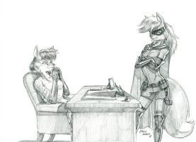 Okay. What do you want? by Baron-Engel