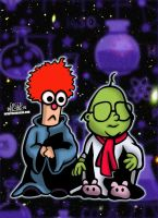 Beaker And Bunsen from Muppet Babies! by CreedStonegate