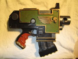 Replica Bolt Pistol 1 by Renquist-von-Reik
