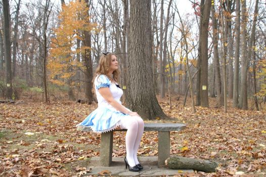 Alice Sitting by Shawn-Saylor
