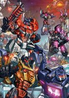 Fall of Cybertron fan art by GoddessMechanic