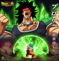 Dragon Ball Super - Broly by jaredsongohan