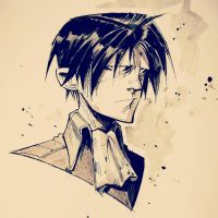 Levi Ackerman by COLOR-REAPER