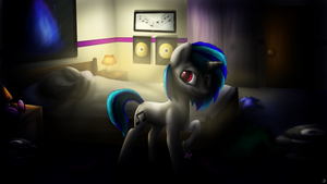 Mixdown (commission) by LupiArts