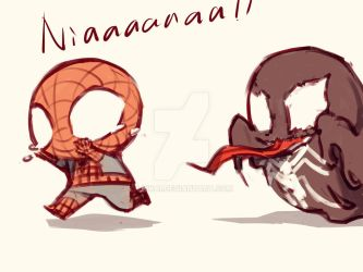 Spideypool34 by LKiKAi