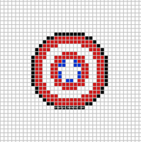 Captain America Shield Template by CreamyXD
