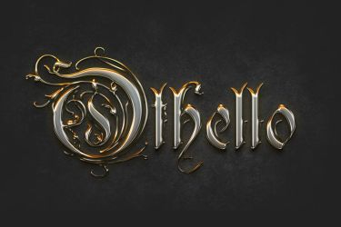 Gold Chromed Text Effect + Tutorial by Giallo86