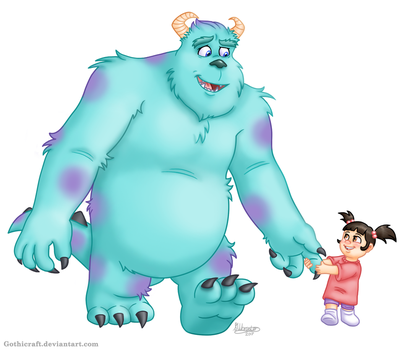 Sully and Boo by Gothicraft
