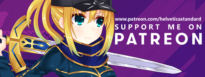Support me on Patreon: by Helvetica--Standard