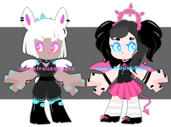 Chibi Adopts (CLOSED) by MonstrousAdopts
