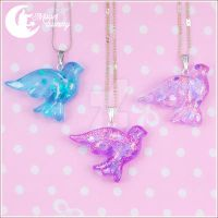 Little birdy Necklace by CuteMoonbunny