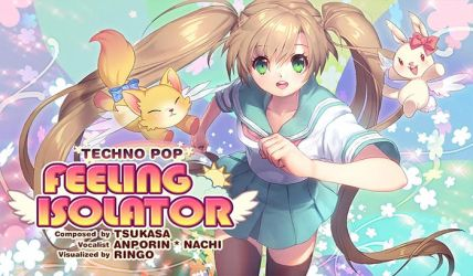 Superbeat Xonic - Feeling Isolator (2014) by illust-ringo