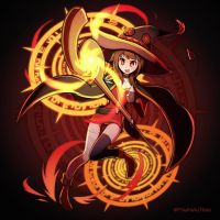 Megumin by PhiphiAuThon