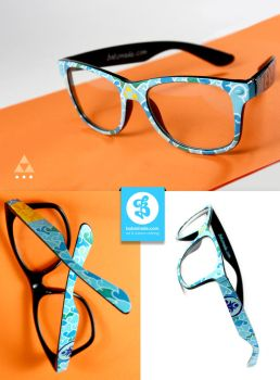 Triforce glasses by Bobsmade