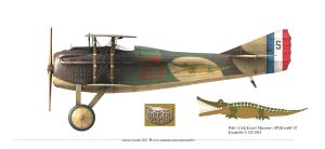 SPAD S.XIII  Profile by rOEN911
