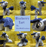 MLP Plushie Contest: Blueberry Tart by SilentWolfCreations
