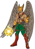 Hawkman by onecoyote