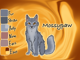 Mossypaw of RiverClan - Silent Sacrifice by Jayie-The-Hufflepuff