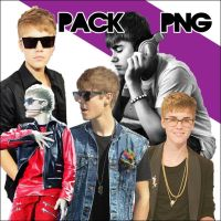 Pack Justin Bieber PNG by a-Sonrix