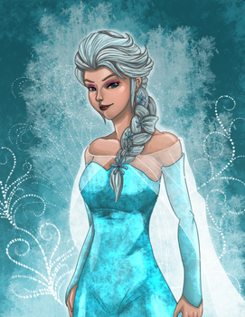 Frozen : Elsa by rithgroove
