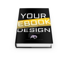 3D EBOOK Mockup by avenirdesign