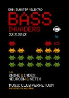 BASS INVADERS flyer by 2NiNe