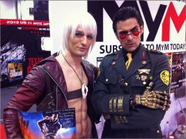 Dante and Mark Meer - Sheppard from Mass Effect by LeonChiroCosplayArt