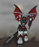 Commission: Makuta Blackwing by 0nuku