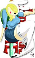 Adventurous Time Thick Fionna by Thickstyle