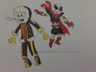 FellSwap: Sans  Papyrus by UndertaleMCSMfan24