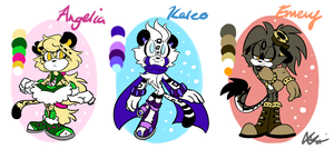 The Leopard Children Lineup~ Reference by Blossom-fur7