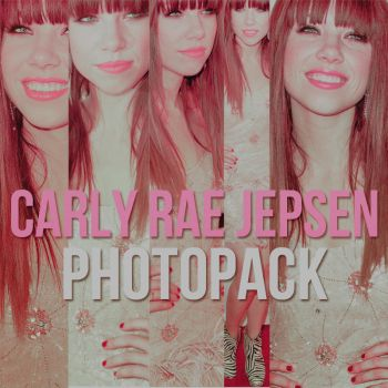Photopack Carly Rae Jepsen by OhMagical