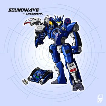 TransTech Soundwave by fourth-heir