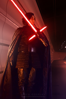 Kylo Ren cosplay The Last Jedi by 14th-division