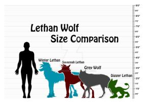 Lethan Wolf Size Chart by MoscoMoon