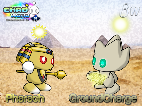 Chao World Season 3 - The Desert Guardians. by Blizzard-White