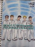 Backstreet Boys: Millenium by Julie-pan