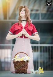 Pray for... Aerith Gainsborough by AiridAndKaitoCosplay