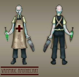 Vampiric Apothecary by mistersasser