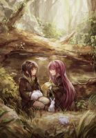 forest friends by yukihomu
