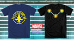 Official Marvel Guardians of the Galaxy Tee Shirts by PixelKitties