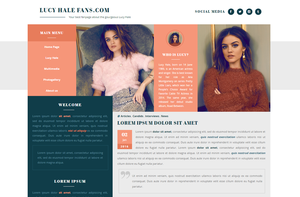 CU WordPress Theme #01 {PREMIUM} by BrielleFantasy