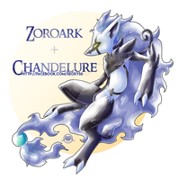 [Closed] Zoroark x Chandelure by Seoxys6