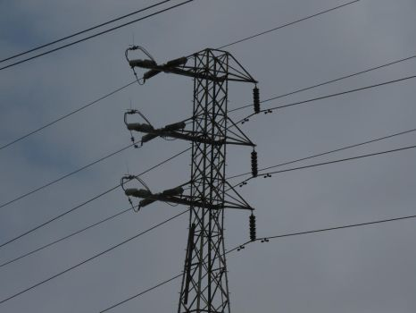 Wires way up high by Fiction-Art-Author