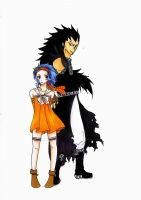 Gajeel and Levy by Yuichan90